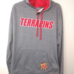 Maryland Terrapins Hoodie Champion Terps New Gray